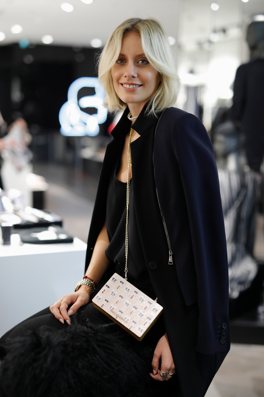 DUESSELDORF, GERMANY - SEPTEMBER 09: Lisa Hahnbueck attends KARL LAGERFELD at the Vogue Fashion's Night Out on September 9, 2016 in Duesseldorf, Germany.. (Photo by Andreas Rentz/Getty Images for KARL LAGERFELD) *** Local Caption *** Lisa Hahnbueck