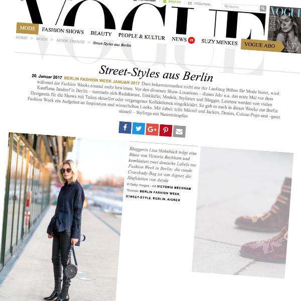Lisa Hahnbück VOGUE Berlin Fashion Week 2017
