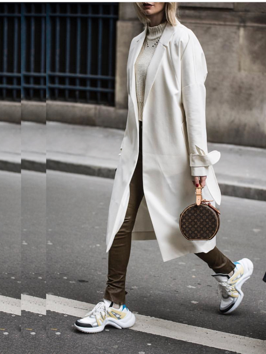 Louis Vuitton Archlight Sneaker Paris Fashion Week Outfits Lisa Hahnbück Fashion Blogger Germany