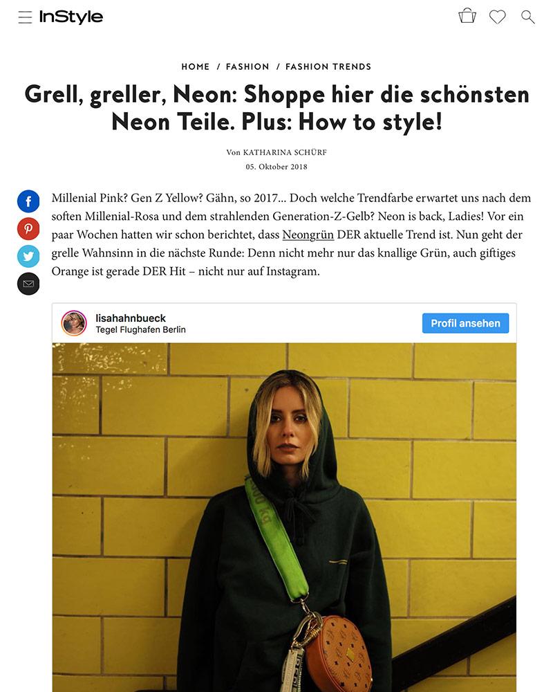 fashion blogger lisa hahnbück presse